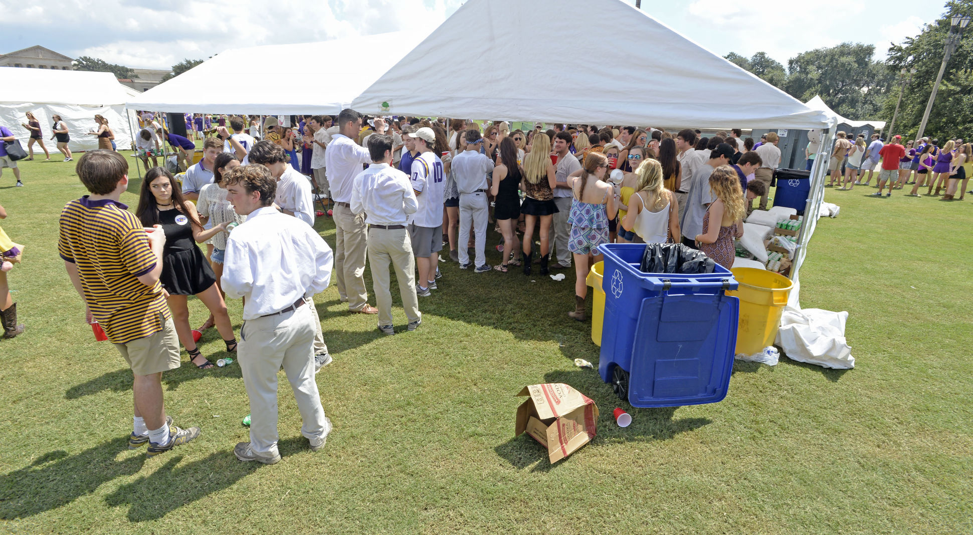 Check out new rules for LSU student groups tailgating at Parade Grounds & Check out new rules for LSU student groups tailgating at Parade ...