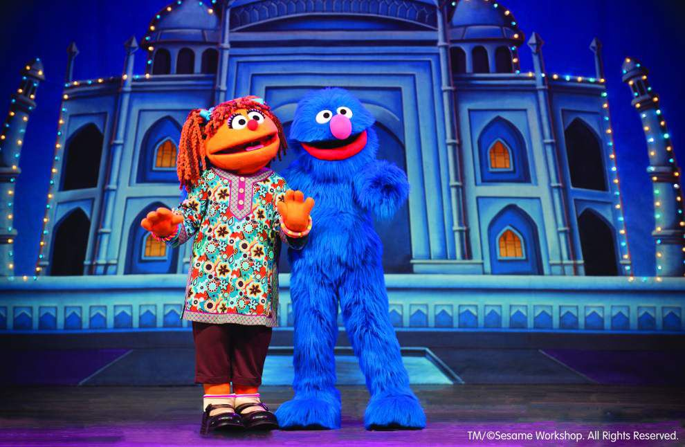 'Sesame Street Live' cast ready to make new pals _lowres