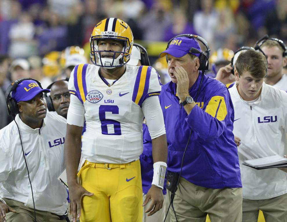 Sources: LSU QB Brandon Harris scheduled for hernia surgery, played with injury for last six weeks _lowres