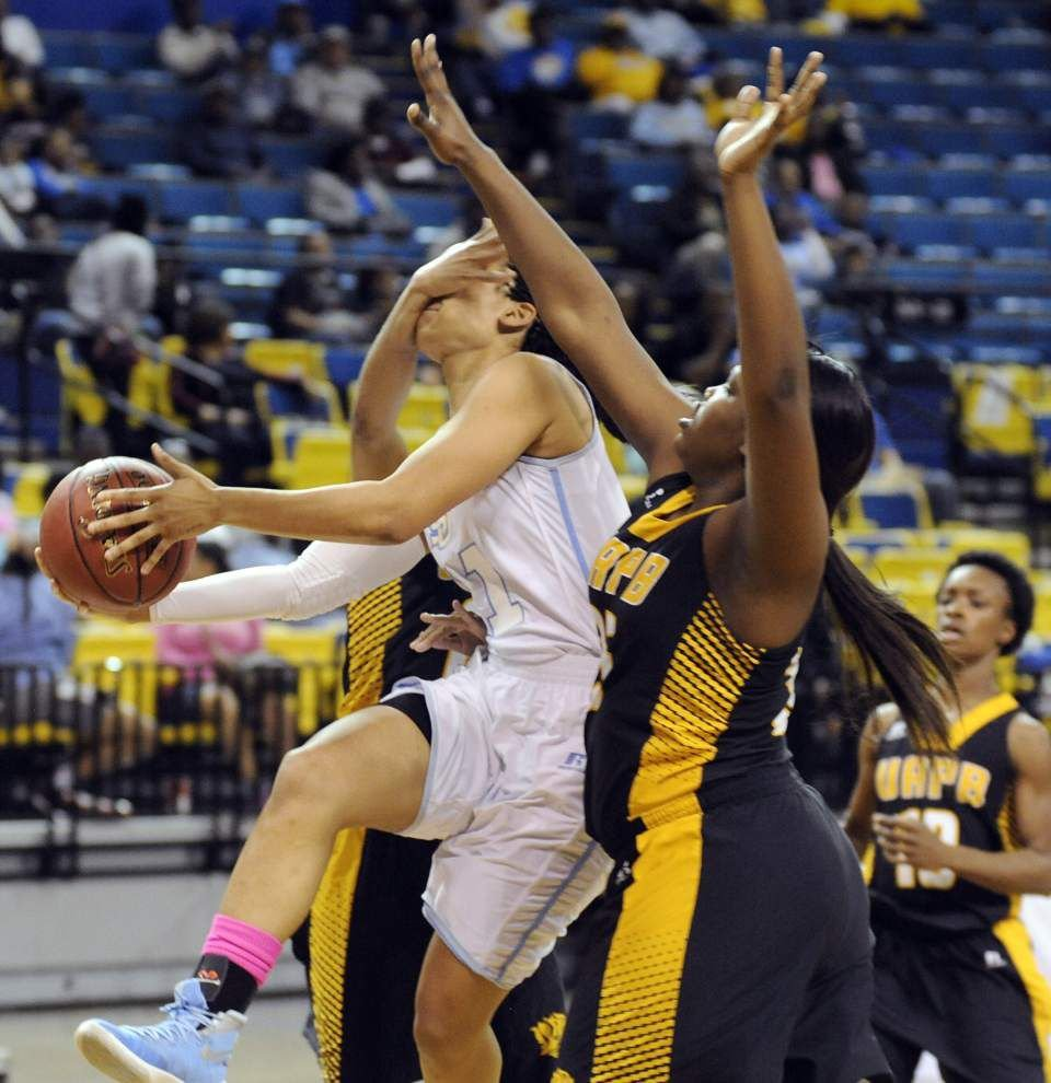 Southern women hold off Arkansas-Pine Bluff _lowres
