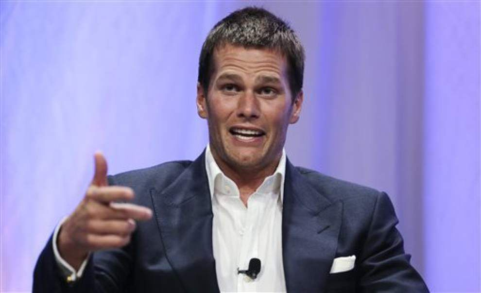 Too much or not enough, Saints fans? NFL suspends Patriots quarterback Tom Brady four games, fines team, strips draft picks for role in 'Deflategate' _lowres