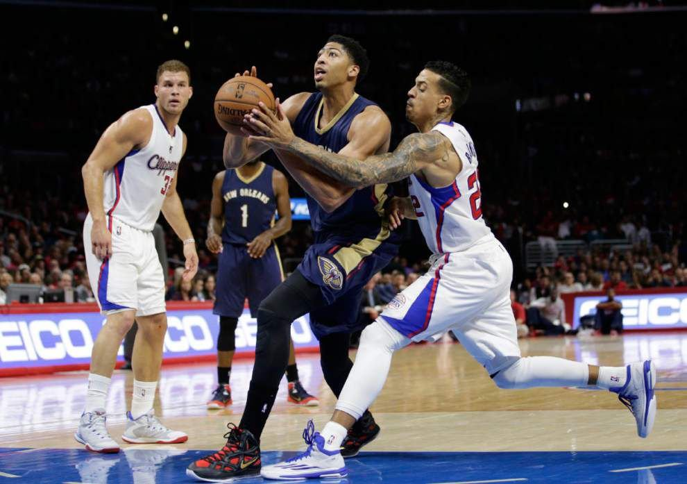 Pelicans' Anthony Davis won't play against Golden State _lowres