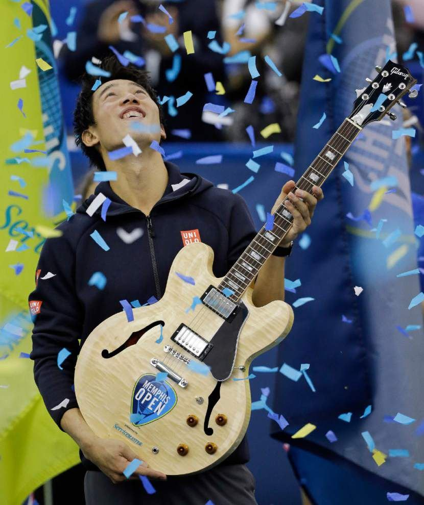 Kei Nishikori repeats again as Memphis Open champion _lowres