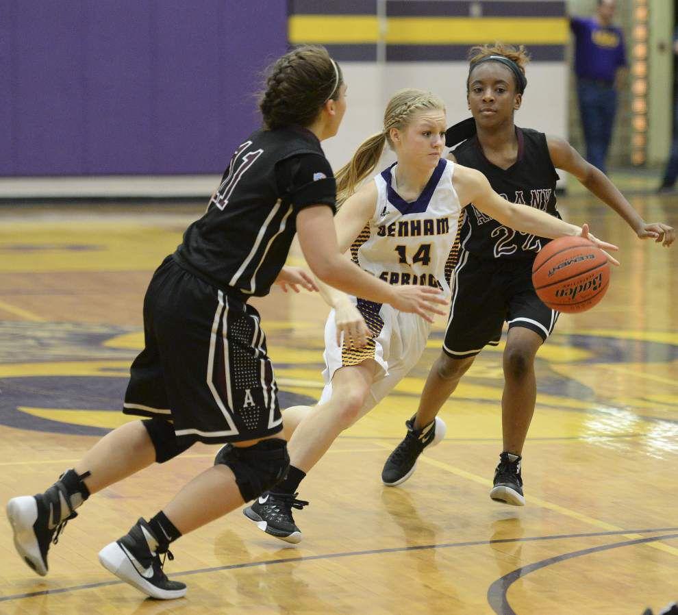 Denham Springs girls win 11th straight, beat Albany _lowres