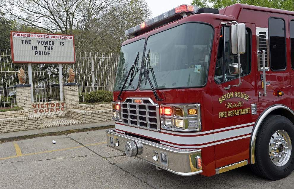 UPDATE: Officials still assessing fire damage at Capitol High, but classes are continuing _lowres