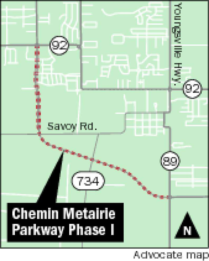 Faulty cost estimates stall planned repairs to Chemin Metairie Parkway _lowres