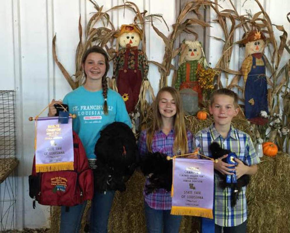 W. Feliciana 4-H members compete at La. livestock fairs _lowres