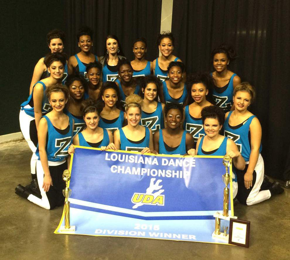 Zachary High's Bronco Belles 'kick it' in state _lowres