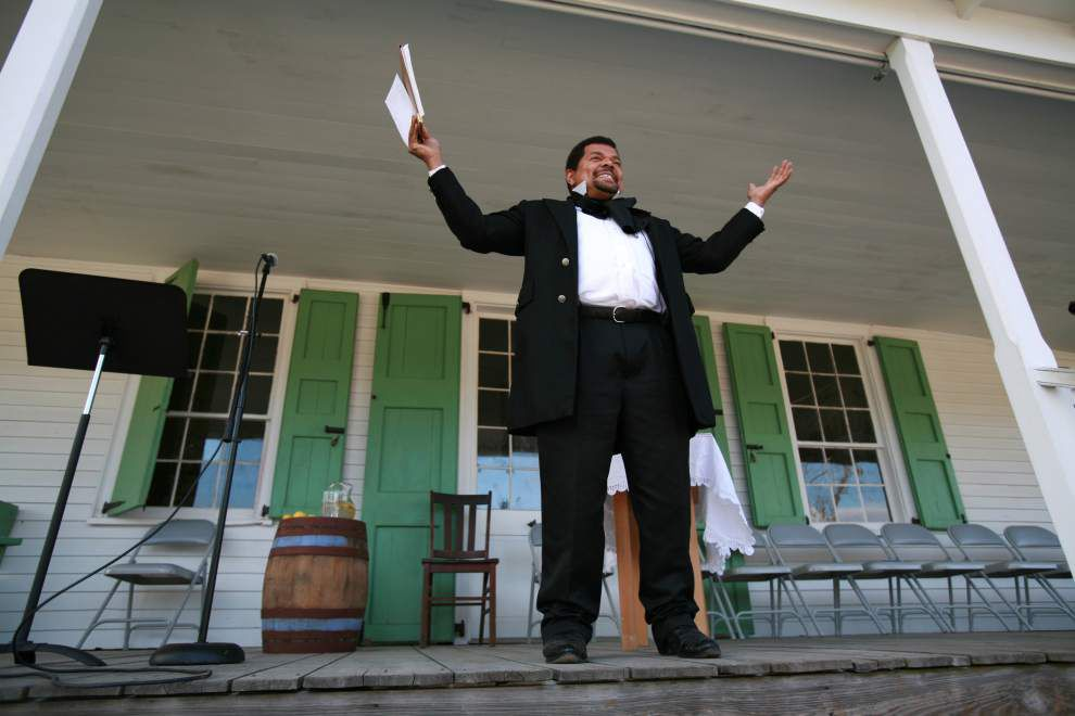 Historical figures come to life at Capitol Park Museum's annual 'Night at the Museum' fundraiser _lowres