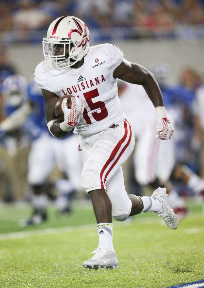 New look to UL-Lafayette Cajuns' uniforms does not go unnoticed _lowres