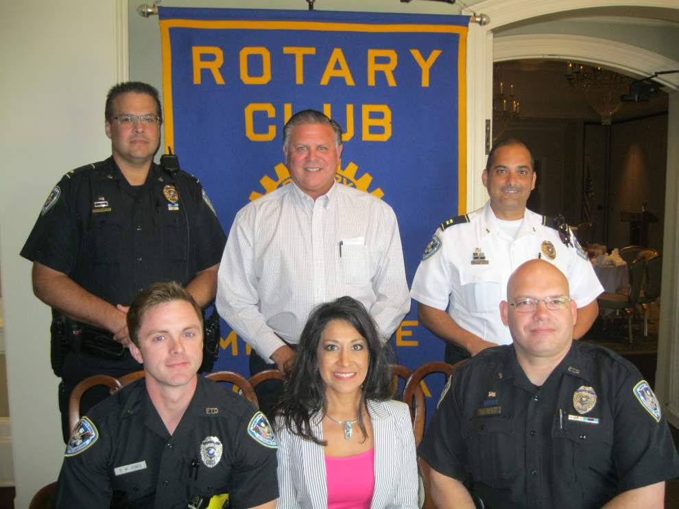 Metairie Rotary Club turns focus to law enforcement _lowres