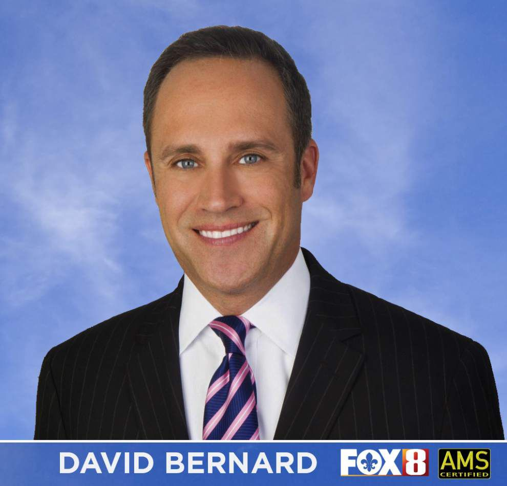 Familiar face: Weather forecaster David Bernard returns to New Orleans, joins WVUE-TV _lowres