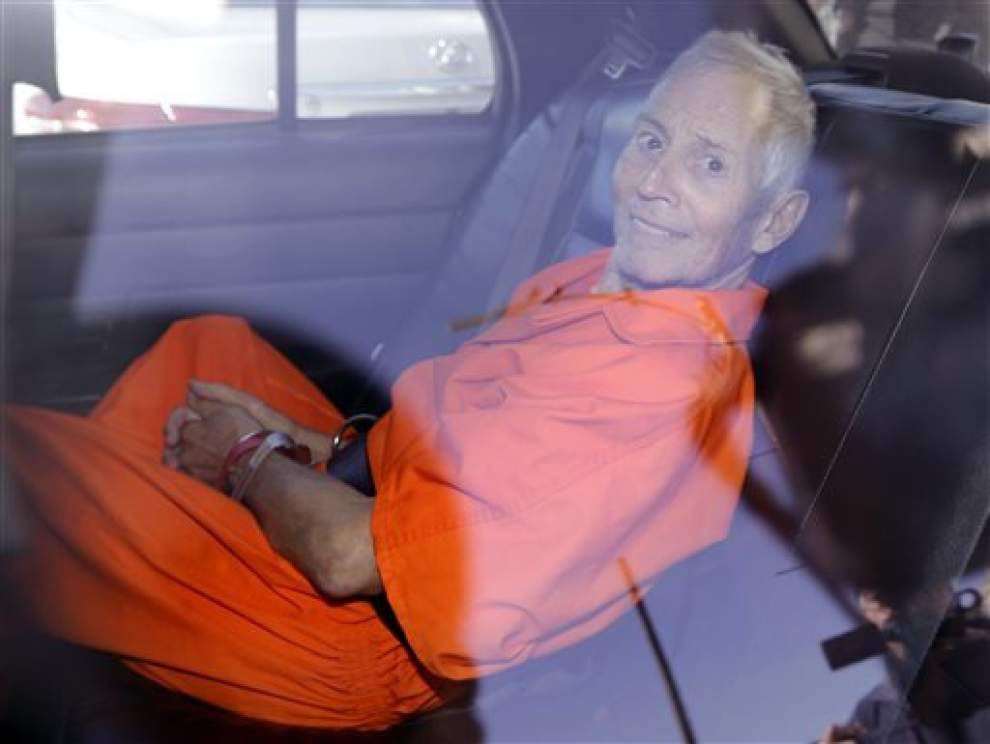 Robert Durst expected to plead guilty in federal gun case _lowres