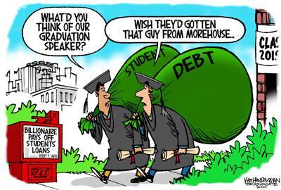 Walt Handelsman: Student Debt