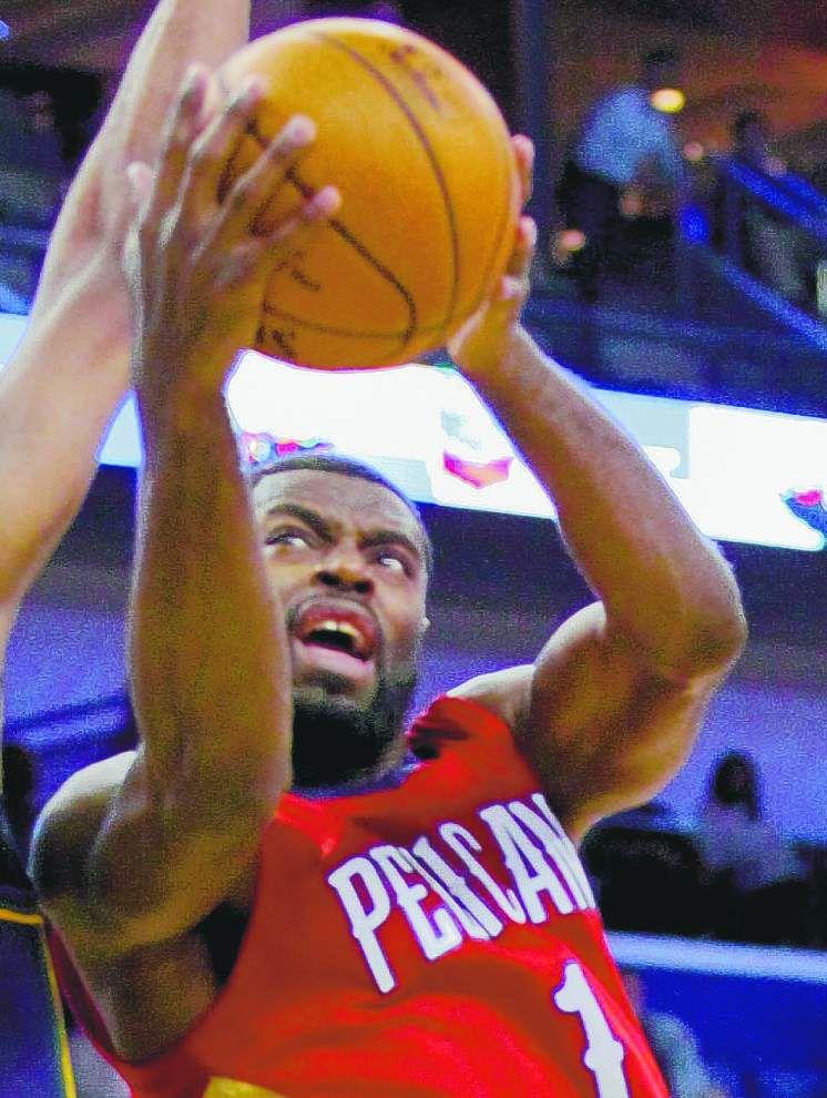 Tyreke Evans making presence felt for Pelicans _lowres