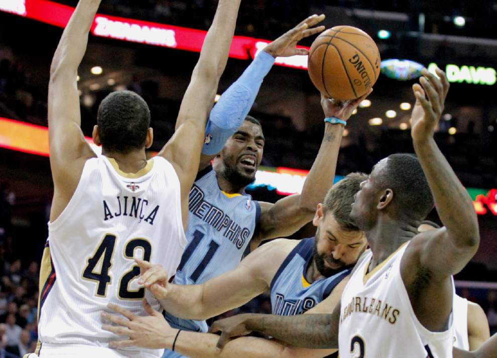 Video: Morrow misses chance to lift Pelicans past Grizzlies _lowres