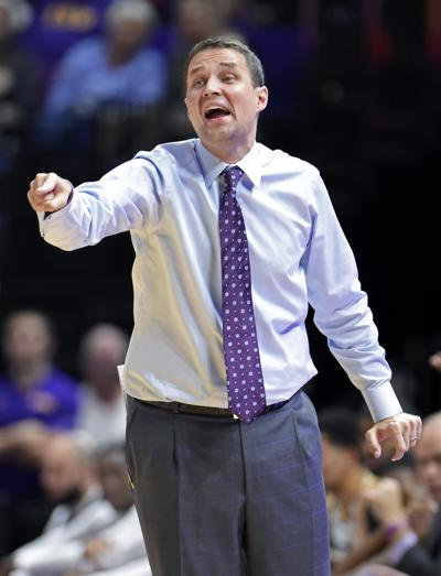 LSU basketball team draws 1 p m  tip time for matchup with
