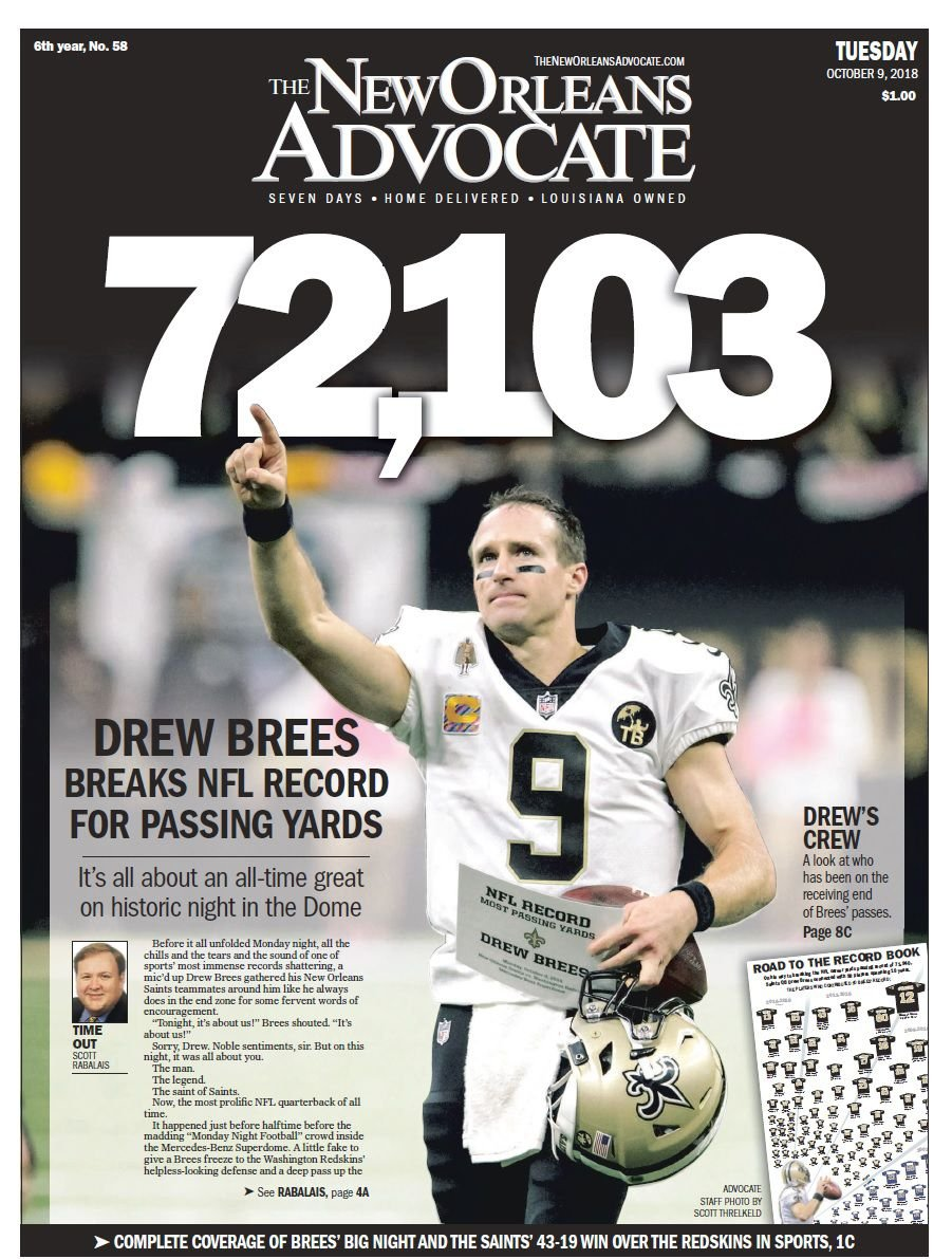 Image result for drew brees record