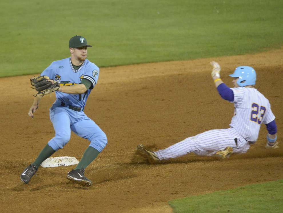 Green Wave adapts to second baseman Jake Willsey's suspension _lowres