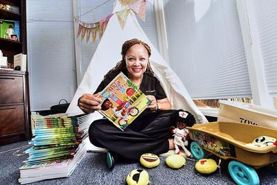 Local children's book series highlights women of color in health care_lowres