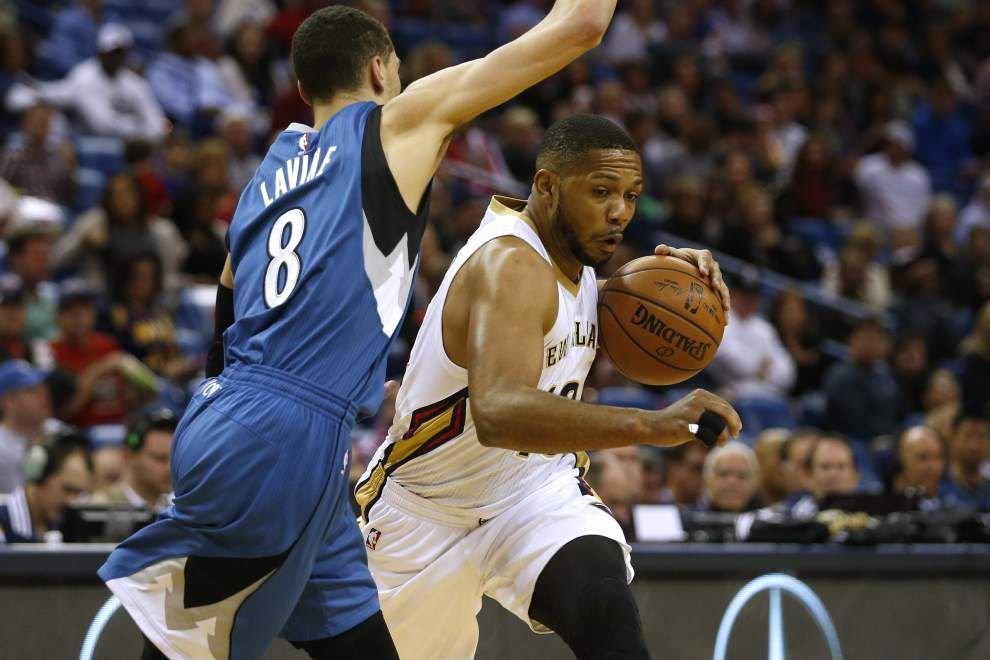 Eric Gordon returns to lineup for Pelicans _lowres