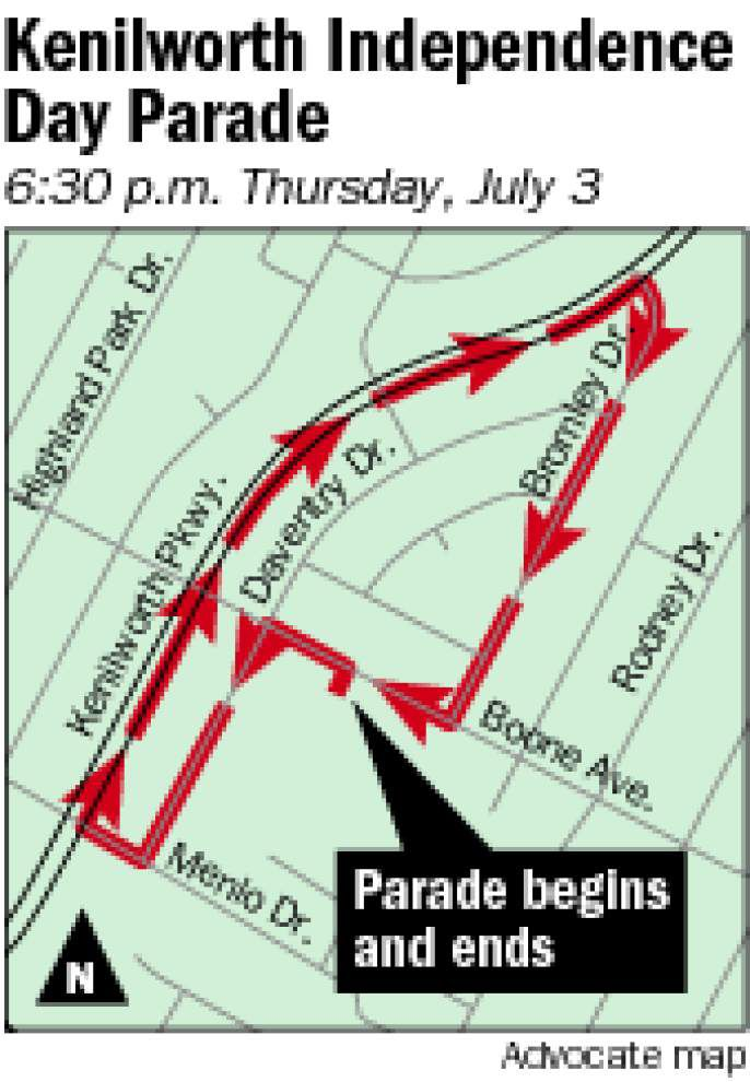 Kenilworth Civic Association parade is Thursday _lowres