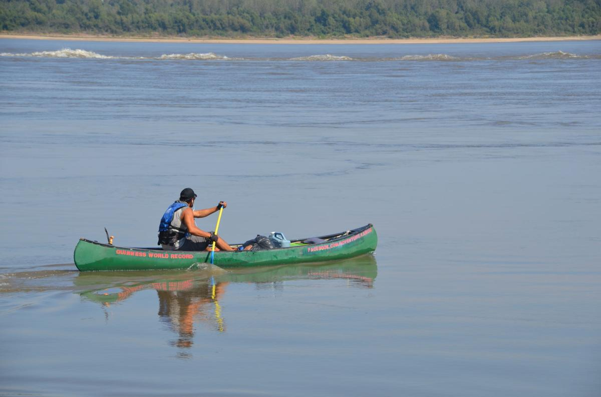 Adventure Aaron: LaPlace native attempts solo canoe record
