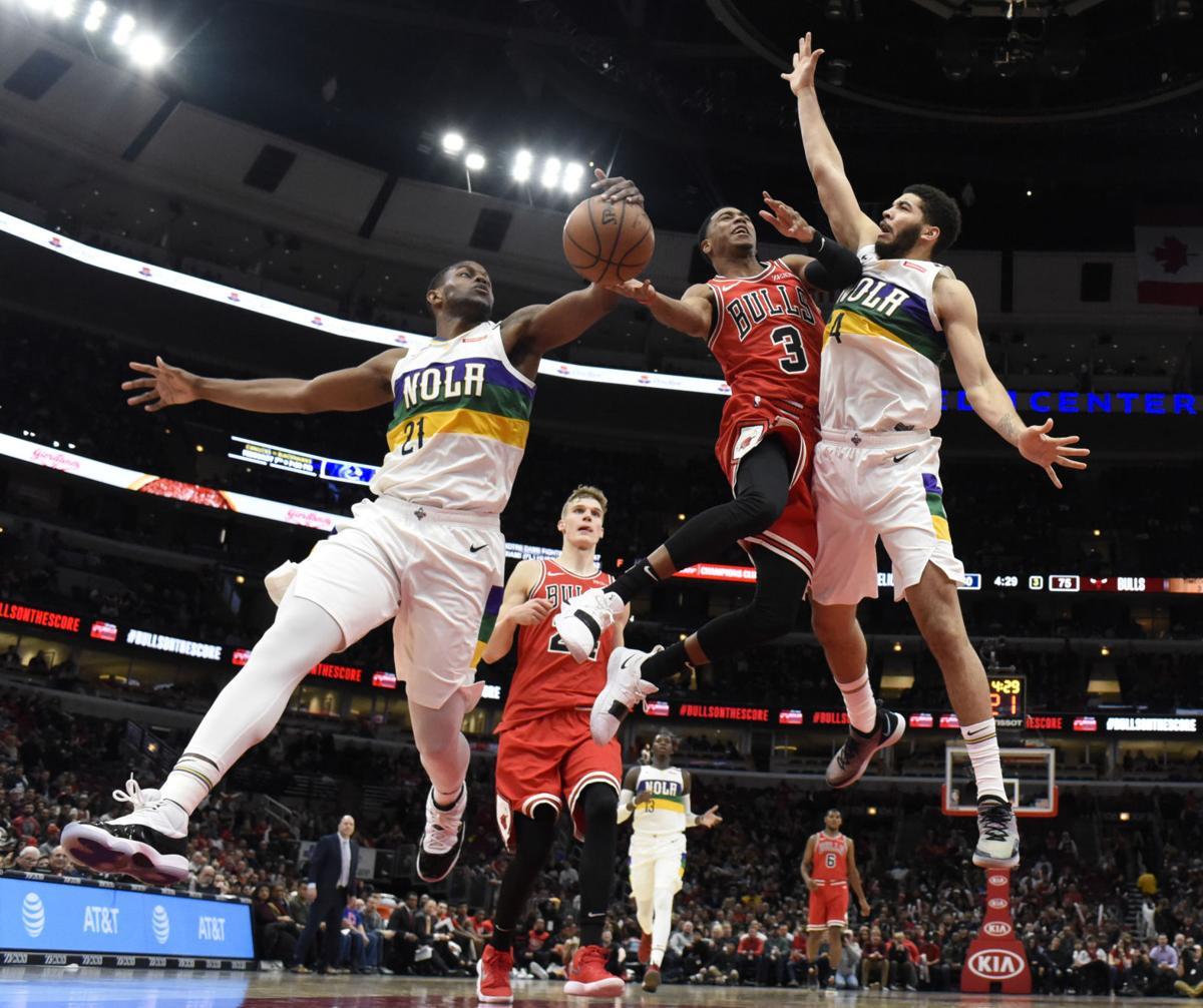 APTOPIX Pelicans Bulls Basketball