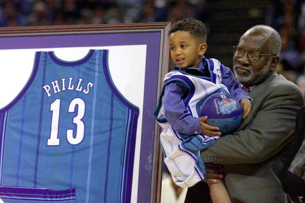 Rabalais: Bobby Phills' jersey returns to the rafters in Charlotte, where he's still revered _lowres