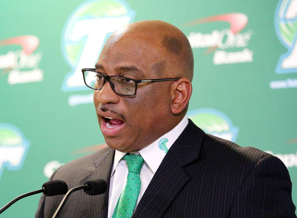 Source: Tulane to let football coach Curtis Johnson go after Friday's game vs. Tulsa _lowres