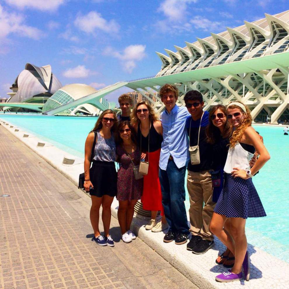 Students take summer trip to Europe, Africa _lowres