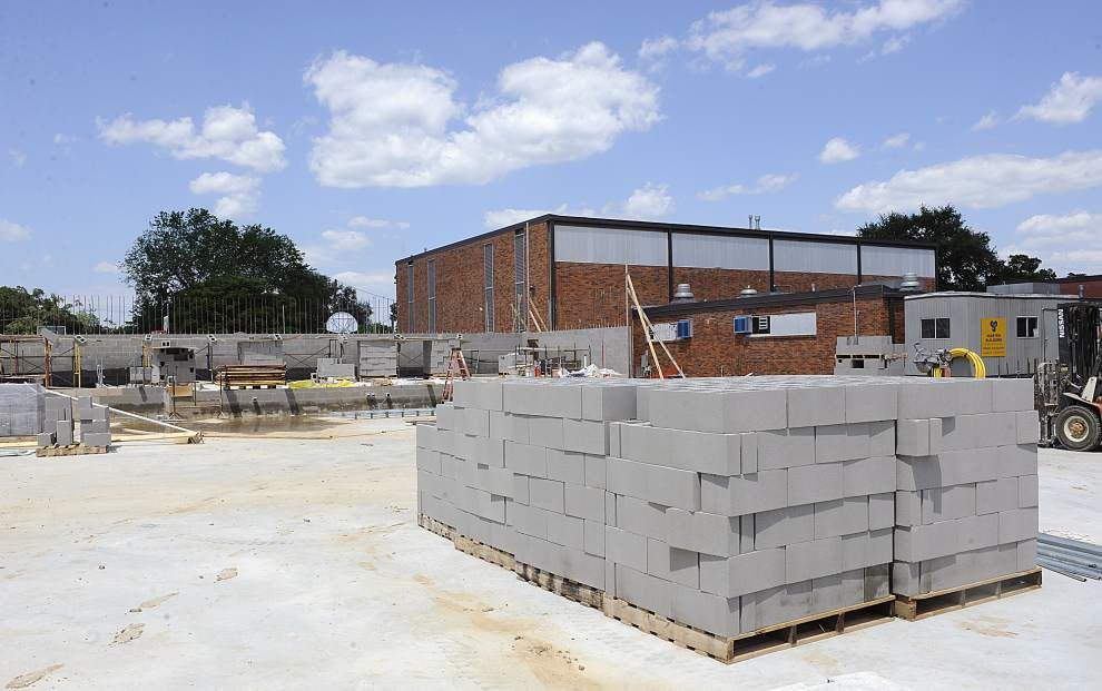 Lafayette school construction projects on track for completion by start of next school year, officials say _lowres