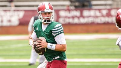 Troy quarterback Taylor Powell