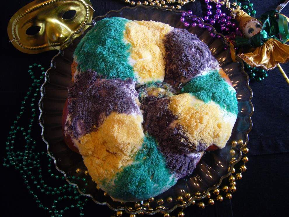 King Cake Creativity: S. Louisiana's favorite Carnival confection is just the starting point for chefs _lowres