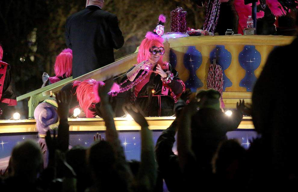 Photos: Mardi Gras parades full speed ahead as Krewes of Druids, Nyx roll on Wednesday _lowres