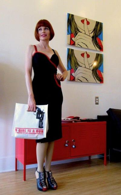 Shopgirl style: Patricia Steere of A Girl is a Gun_lowres