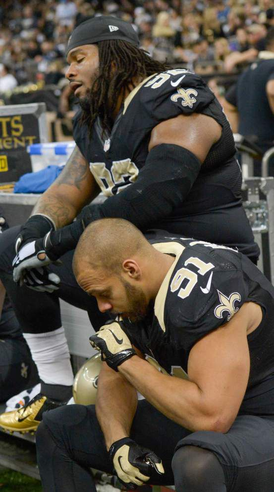 Kasim Edebali has quietly become a potential answer at edge rusher for Saints defensive line _lowres