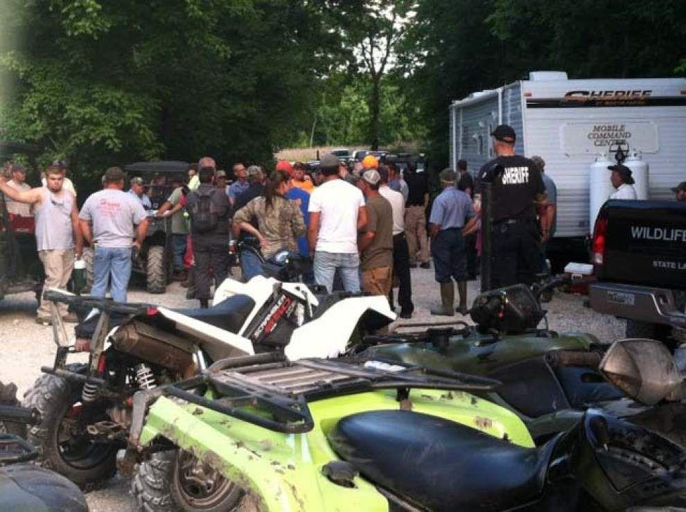 Woman, two children lost in dense St. Martin woods found safe _lowres