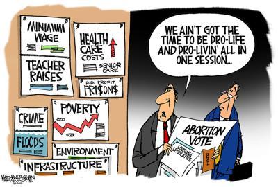 Walt Handelsman: Legislative Focus