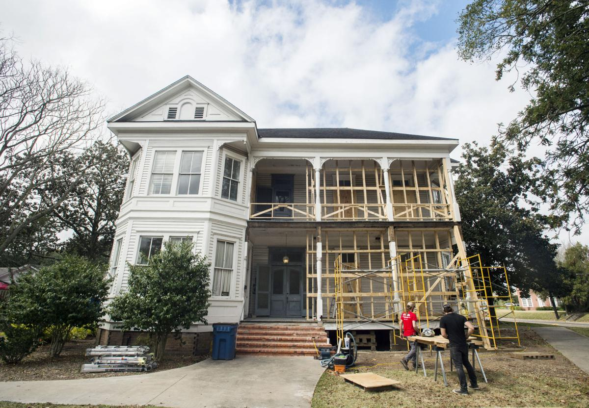 Construction Underway To Transform Historic Lafayette Home Into