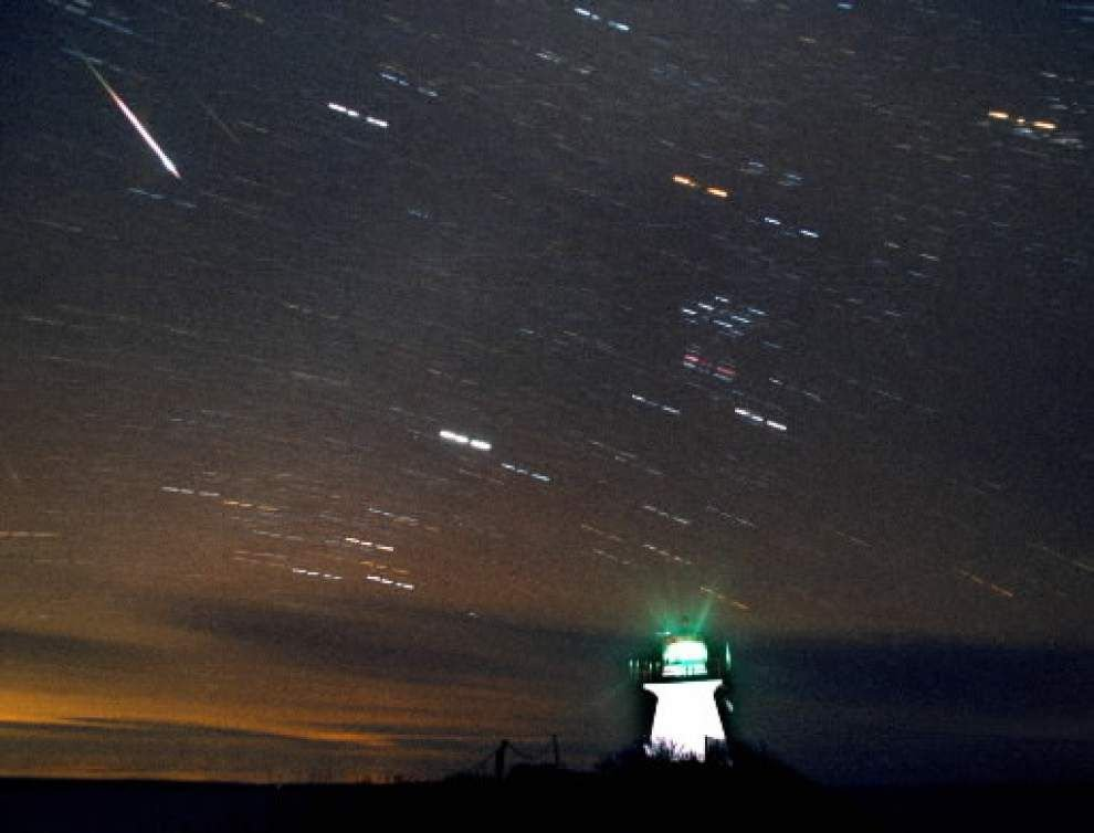 Brand new meteor shower making debut Saturday _lowres
