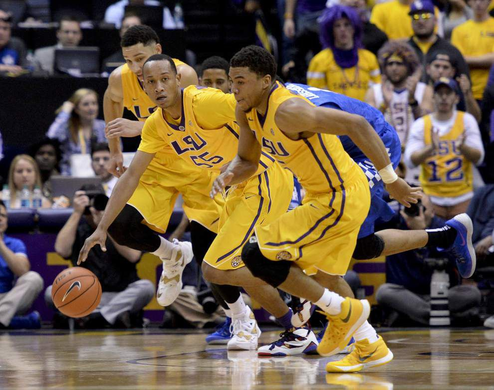 Photos: LSU upsets ninth ranked Kentucky _lowres