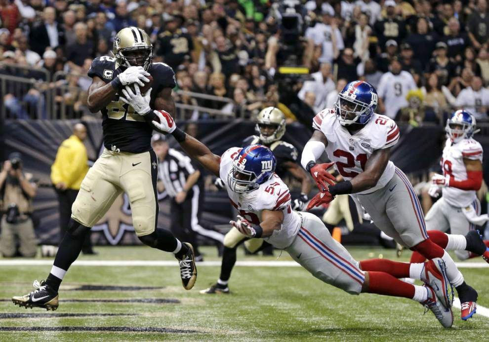 Saints tight end Benjamin Watson is making an unprecedented impact on and off the field _lowres