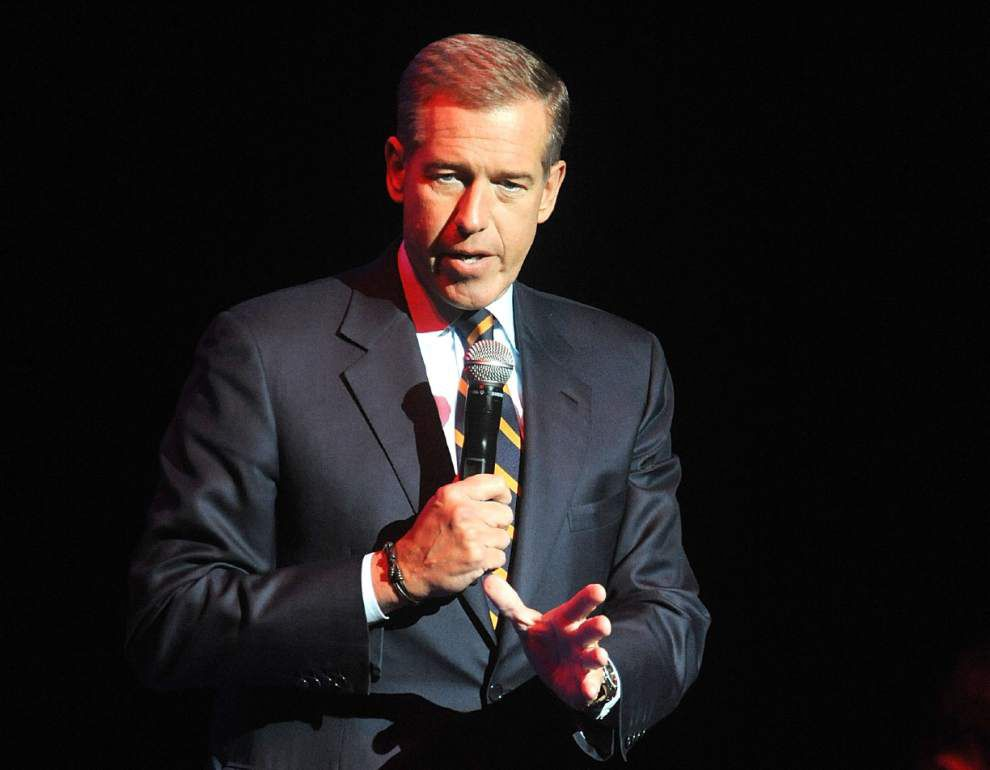 Brian Williams taking himself off air temporarily _lowres