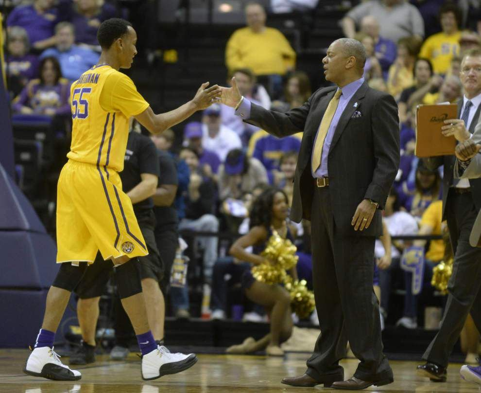 The LSU men's basketball team is still in most NCAA tournament projections _lowres