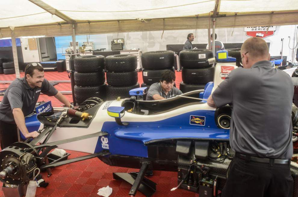 Rain or shine: Indy Grand Prix of Louisiana will roll on, despite gloomy weather forecast _lowres
