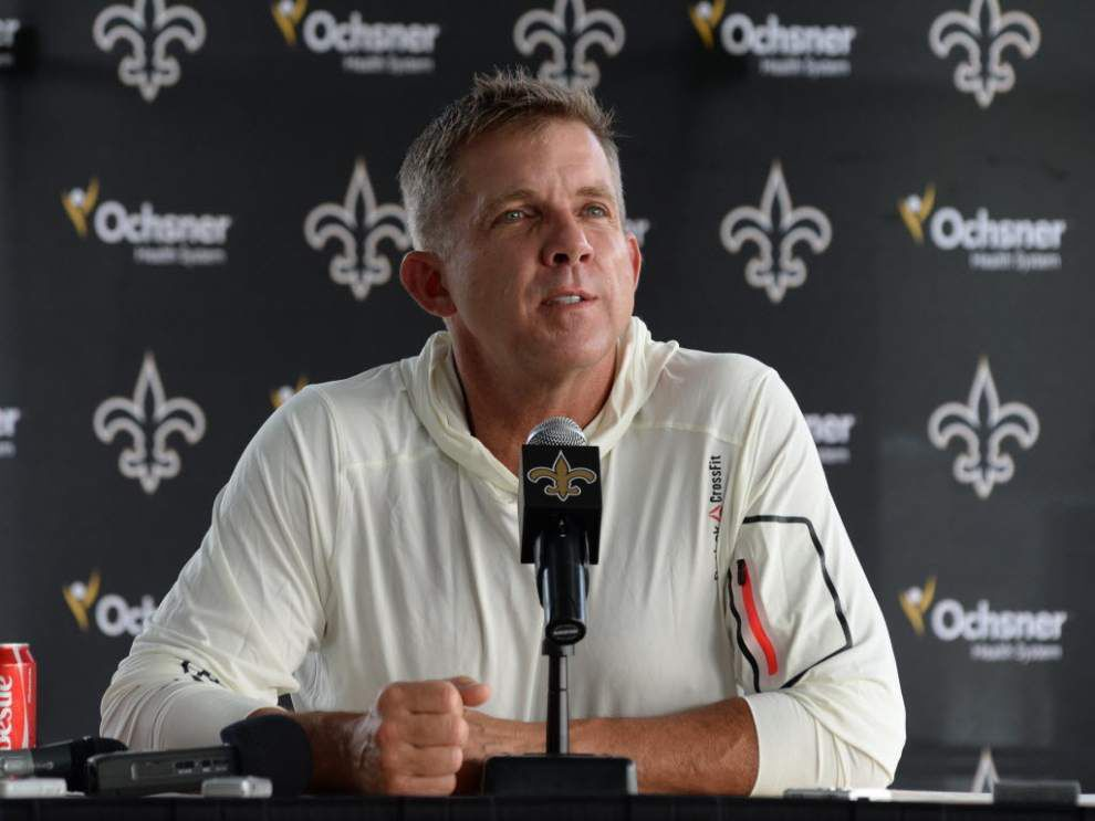 Ted Lewis: Everything looks about the same at Saints training camp; but the feeling is quite different _lowres