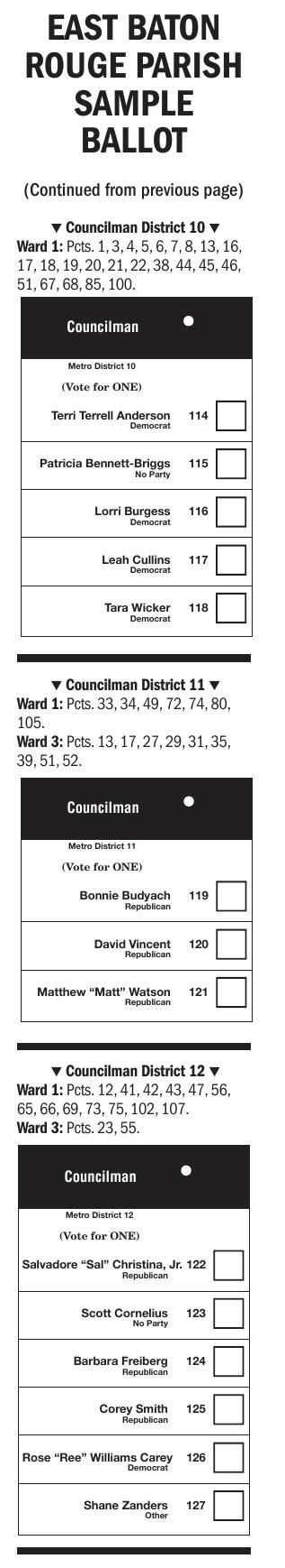 Sample Ballot (Page 2)