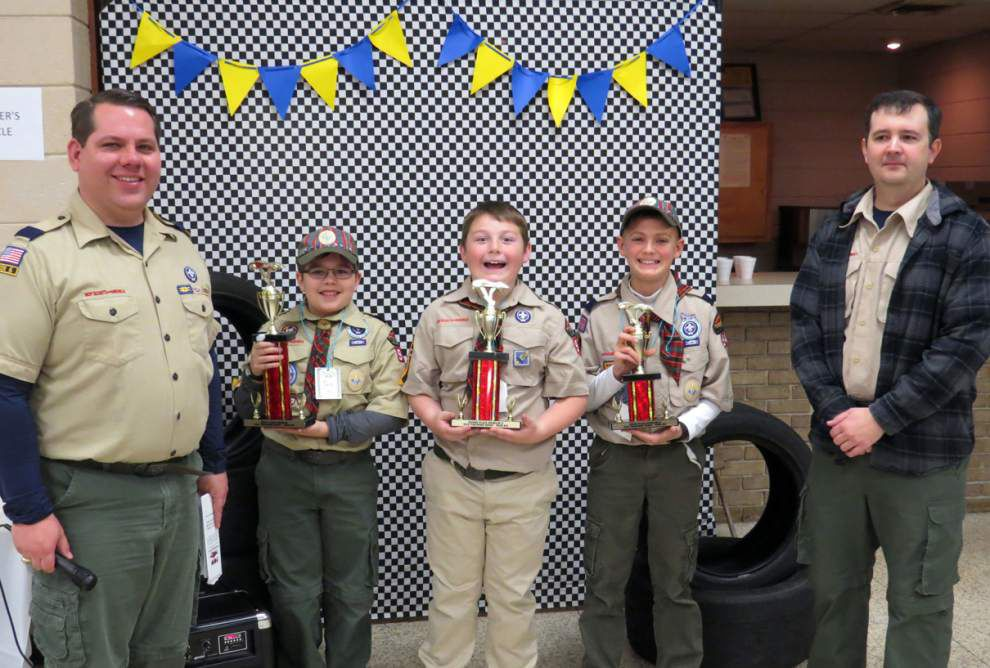 Cub Scout Pack 942 announces derby winners _lowres