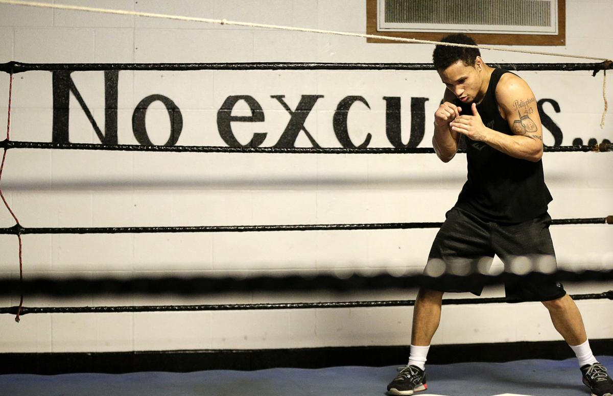 Regis Prograis Trains For Upcoming Welterweight Championship Fight